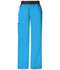 Photograph of Cherokee Flexibles Women\'s Mid Rise Knit Waist Pull-On Pant Blue 1031P-TRQB