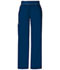 Photograph of Cherokee Flexibles Women\'s Mid-Rise Knit Waist Pull-On Pant Blue 1031T-NVYB