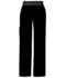 Photograph of Flexibles Women's Mid Rise Knit Waist Pull-On Pant Black 1031-BLKB