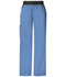 Photograph of Cherokee Flexibles Women\'s Mid Rise Knit Waist Pull-On Pant Blue 1031-CIEB
