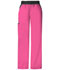 Photograph of Cherokee Flexibles Women\'s Mid Rise Knit Waist Pull-On Pant Pink 1031-SHPB
