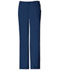 Photograph of Cherokee Luxe Women's Low Rise Straight Leg Drawstring Pant Blue 1066-NAVV