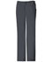 Photograph of Cherokee Luxe Women's Low Rise Straight Leg Drawstring Pant Gray 1066-PEWV