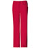 Photograph of Cherokee Luxe Women's Low Rise Straight Leg Drawstring Pant Red 1066-REDV