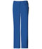 Photograph of Cherokee Luxe Women's Low Rise Straight Leg Drawstring Pant Blue 1066-ROYV