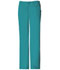 Photograph of Cherokee Luxe Women\'s Low Rise Straight Leg Drawstring Pant Green 1066-TEAV