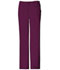 Photograph of Cherokee Luxe Women\'s Low Rise Straight Leg Drawstring Pant Red 1066-WINV