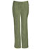 Photograph of Infinity Women Low Rise Straight Leg Drawstring Pant Green 1123A-OLPS