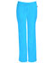 Photograph of Cherokee Infinity Women's Low Rise Straight Leg Drawstring Pant Blue 1123A-TRQ