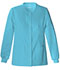 Photograph of Luxe Women's Snap Front Warm-Up Jacket Blue 1330-BLUV