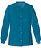 Photograph of Cherokee Luxe Women's Snap Front Warm-Up Jacket Blue 1330-CARV