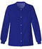 Photograph of Luxe Women's Snap Front Warm-Up Jacket Blue 1330-GABV