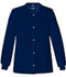 Photograph of Cherokee Luxe Women's Snap Front Warm-Up Jacket Blue 1330-NAVV