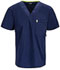 Photograph of Bliss Men's Men's V-Neck Top Blue 16600AB-NVCH
