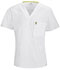 Photograph of Bliss Men Men's V-Neck Top White 16600AB-WHCH