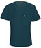 Photograph of Bliss Men's Men's V-Neck Top Blue 16600A-CACH
