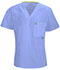 Photograph of Bliss Men's Men's V-Neck Top Blue 16600A-CLCH
