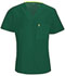 Photograph of Code Happy Bliss Men's Men's V-Neck Top Green 16600A-HNCH