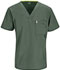 Photograph of Bliss Men Men's V-Neck Top Green 16600A-OLCH