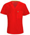 Photograph of Bliss Men's Men's V-Neck Top Red 16600A-RECH