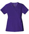 Photograph of Cherokee Luxe Women\'s Mock Wrap Top Purple 1841-GRPV