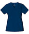 Photograph of Luxe Women's Mock Wrap Top Blue 1841-NAVV