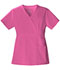 Photograph of Luxe Women's Mock Wrap Top Pink 1841-ROSV