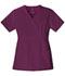 Photograph of Luxe Women's Mock Wrap Top Red 1841-WINV