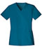 Photograph of Luxe Women V-Neck Top Blue 1845-CARV