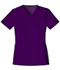Photograph of Cherokee Luxe Women's V-Neck Top Purple 1845-EGGV