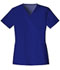 Photograph of Luxe Women's V-Neck Top Blue 1845-GABV