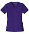 Photograph of Cherokee Luxe Women\'s V-Neck Top Purple 1845-GRPV