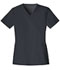 Photograph of Luxe Women V-Neck Top Gray 1845-PEWV
