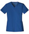Photograph of Luxe Women's V-Neck Top Blue 1845-ROYV