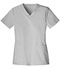 Photograph of Luxe Women's V-Neck Top White 1845-WHTV