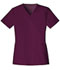 Photograph of Luxe Women's V-Neck Top Red 1845-WINV