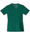 Photograph of Cherokee Flexibles Women\'s V-Neck Knit Panel Top Green 1909-HNTB