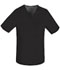 Photograph of Luxe Men Men's V-Neck Top Black 1929-BLKV