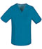 Photograph of Luxe Men's Men's V-Neck Top Blue 1929-CARV
