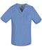 Photograph of Luxe Men's Men's V-Neck Top Blue 1929-CELV
