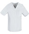 Photograph of Cherokee Luxe Men's Men's V-Neck Top White 1929-WHTV