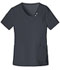 Photograph of Luxe Women's Crossover V-Neck Pin-Tuck Top Gray 1999-PEWV