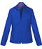 Photograph of Break on Through Women's Zip Front Warm-Up Jacket Blue 20310-ROYH