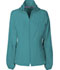 Photograph of Break on Through Women Zip Front Warm-Up Jacket Blue 20310-TEAH