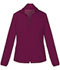 Photograph of Break on Through Women's Zip Front Warm-Up Jacket Red 20310-WINH