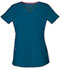 Photograph of Break on Through Women's Shaped V-Neck Top Blue 20710-CABH