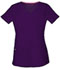 Photograph of Break on Through by HeartSoul Women's Pitter-Pat Shaped V-Neck Top Purple 20710-EGPH
