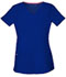 Photograph of Break on Through Women's Pitter-Pat Shaped V-Neck Top Blue 20710-GLXH