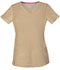 Photograph of Break on Through Women's Pitter-Pat Shaped V-Neck Top Khaki 20710-KHAH