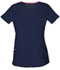 Photograph of HeartSoul Break on Through Women's Pitter-Pat Shaped V-Neck Top Blue 20710-NAYH